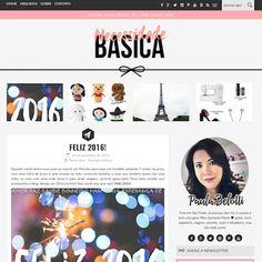 Blog de visual novo