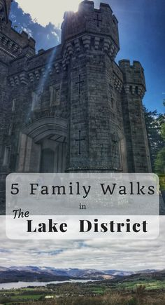 Here are five of our favourite family walks in The Lake District (north west England, UK) around Lake Windermere. They are moderate grade rambles for the entire family, and should be okay to undertake for anyone with average levels of fitness. Days Out With Kids, Family Days Out, England And Scotland, England Uk, Lake District Walks, Family Travel, Travel Uk, Slow Travel, Travel Europe