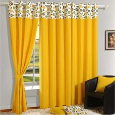 Simple living room curtains behind couch ideas Ruth Simple Curtain Ideas Excellent Wonderful Living Room Design For Home Interiors Grey Sofa Fre Santosangelesco Living Room Curtain Ideas Santosangelesco Cute Curtains, Yellow Curtains, Printed Curtains, Door Curtains, Colorful Curtains, Decorative Curtains, Rideaux Design, Living Room Decor Curtains, Homemade Curtains
