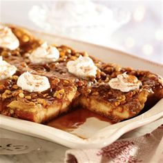 Jif Peanut Butter Caramel French Toast