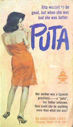Puta Pulp Fiction Art, Pulp Art, Robert Mcginnis, Vintage Book Covers, Up Book, Book Cover Art, Arte Pop, Vintage Comics, Paperback Books