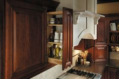Fieldstone Cabinetry Wall Pantry