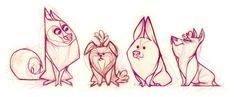   #drawing #illustrator #illustration #art #color #paint #ilustração #arte #sketch #sketchbook #rough #wip #cartoon #draw #dog #cat #animal