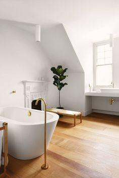 Home Interior Decoration Ideas Bathroom Interior Design, Modern Interior Design, Minimalism Living, Modern Family House, Budget Bathroom Remodel, Tadelakt, Bathroom Inspiration, Bathroom Ideas, Bathroom Furniture