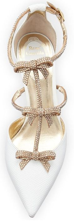 Rene Caovilla sandals > swarovski crystals shoes. These heels are just stunning!