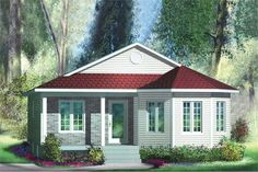 Main image for house plan # 12760