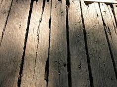 old wood floorboards Plank Flooring, Wooden Flooring, Hardwood Floors, Bali House, Rustic Wood Floors, Into The Woods, Covered Bridges, Recycled Wood, Old Wood
