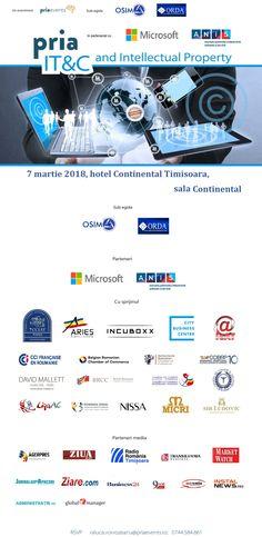 ORDA vine la Timișoara pentru a discuta cu dezvoltatorii de software și aplicații în cadrul PRIA IT&C and Intellectual Property în 7 martie la hotel Continental | | Actualitatea Online