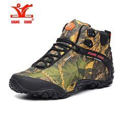 57.79$  Buy now - http://aliz5u.worldwells.pw/go.php?t=32739984239 - XiangGuan brand men and women outdoor Hiking shoes waterproof canvas sport trekking boots Anti-skid Wear Mountain Climbing Shoes 57.79$