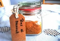 Ras el Hanout fűszerkeverék Ras El Hanout, Food 52, Mason Jars, Spices, Mugs, Tableware, Humor, Drinks, Drinking