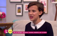Young Millie has shot to fame off the back of the streaming sensation