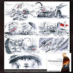 Jurassic Park Storyboard Artist David Lowery  Movie Storyboards