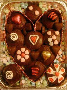 Box of Chocolates Cupcake Cake