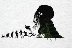 Darwinism According To Lovecraft [T-Shirt]