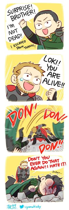 Don't do that again!!! #InfinityWar @Cyanwhisky