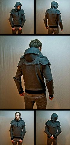 Knight Armour Hoodie: All my Alpha boys need these!