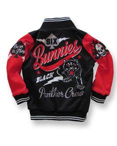 Six Bunnies Kids Jacke/Jacket Panther Tattoo,Oldschool,Biker,Custom Styles