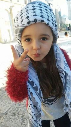 Palestinian child, all she really wants is to have a normal life, like most people have. A life without war, a life without fear, just a normal life that most people take for granted ... kd