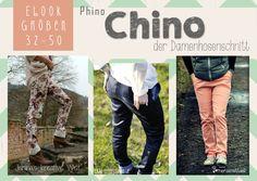 Dieses E-Book beinhaltet Schnitt und Anleitung für eine Damen Chinohose. Die Hose kann aus alles Stretchhosenstoffen genäht werden (Stretchjeans, Baumwollstretch, Stretchcord ect.) Der Schnitt...