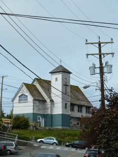 The old church in Ucluelet. July 2015.
