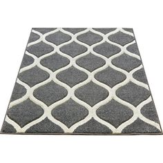 Discover the UK's largest selection of modern & contemporary rugs - find the perfect rug for your home. ✓ All styles, sizes & colours ✓ FREE DELIVERY Silver Grey Rug, Teal And Grey, Cream Area Rug, Blue Area Rugs, Contemporary Rugs, Modern Rugs, Trellis Design, Geometric Rug, Grey Rugs