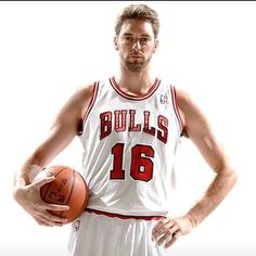 aappril:  Now that #PauGasol is playing for the Bulls, I feel like I'm going to be cheating on The Lakers with The Bulls.  He so cute!!!