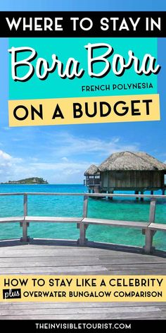 Wondering where to stay in Bora Bora on a budget? I discovered a little trick that allowed me to stay in an overwater bungalow for less than half the price I expected. If you're planning a Bora Bora honeymoon, don't miss how you can stay in Bora Bora like Bora Bora Location, Bora Bora Honeymoon, Europe Destinations, Honeymoon Destinations, Bora Bora Activities, Bora Bora French Polynesia, Tahiti, Travel Photographie, Where Is Bora Bora