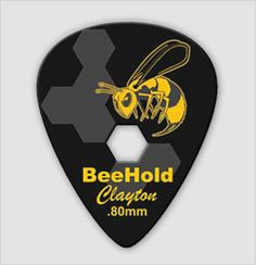 BeeHold the power of control at your fingertips. This unique design is comfortable to play with and allows you to move the pick where needed, but locks it in place.