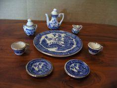 Mini Tea Set - Blue Willow