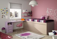 Muebles juveniles - ECO - Composición 07