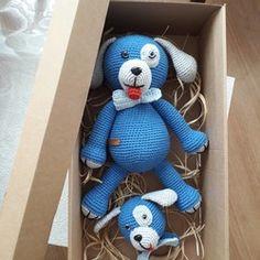 2 li köpek set Teddy Bear, Toys, Animals, Amigurumi, Activity Toys, Animales, Animaux, Clearance Toys, Teddy Bears