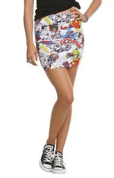 Avengers stretch contour skirt