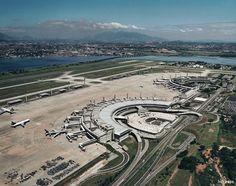 Rio de Janeiro/Galeão–Antonio Carlos Jobim International Airport - Terminal 1 (1977) and Terminal 2 (1999)