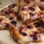 These crockin' bars taste so delicious it is hard to believe how simple they are to whip up! Whether you are making them for a special mom in your life, or just for a yummy dessert, you won't be disappointed with this cheesecake bars!