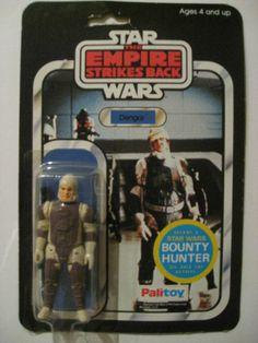 Vintage PALITOY 45 BACK DENGAR ESB Star Wars  Original 1981 UK MOC Genuine read!