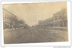 RP: South Main Street , PRATT , Kansas , PU-1926 ; Storefronts - Delcampe.com