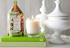 The Gardenia scent smells amazing!  Very strong.