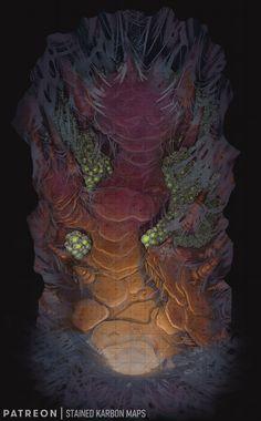 Fantasy Map, Medieval Fantasy, Dark Fantasy, Rpg Map, Map Layout, Dnd Monsters, Dnd Art, Dungeon Maps, Nature Spirits