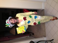Dr seuss one fish two homemade costume kat ellis picture to pin on pinteres Thing 1 Costume, Fish Costume, Book Week Costume, Homemade Costumes, Diy Costumes, Adult Costumes, Costume Ideas, Costumes 2015, Dr Seuss Costumes