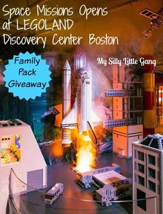 Space Missions NOW Open & LEGOLAND Discovery Center Boston Giveaway