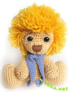 Lion tutorial crochet                                                                                                                                                                                 More
