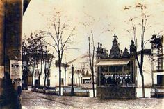 Magdalena, Plaza, Twitter, Painting, Kiosk, Antique Photos, Painting Art, Paintings, Painted Canvas