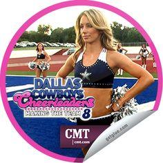 Steffie Doll's Dallas Cowboys Cheerleaders: Making the Team – The Pressure Cooker Sticker | GetGlue