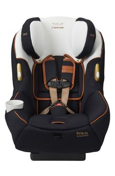 Free shipping and returns on Maxi-Cosi® x Rachel Zoe 'Pria™ 85 - Special Edition' Car Seat at Nordstrom.com. A special-edition car seat is made in partnership with designer Rachel Zoe and inspired by the jetsetter lifestyle, paying homage to luxe vintage leather luggage. Gorgeous cognac leather and chunky goldtone hardware add an opulent look and perfectly complement the chic black-and-white fabric. The versatile style fits children from 14 to 85 pounds, allowing you to keep baby…