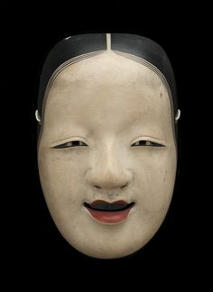 cavinmorrisgallery: Regional Masks Japan - Noh Mask, Omi Onna, 19th c. Lacquered wood.