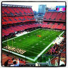FirstEnergy Stadium itt: Cleveland, OH