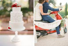 Valentine's Wedding Inspiration via Coastal Bride