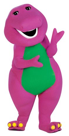 Barney, I used to watch you everyday. You were amazing!