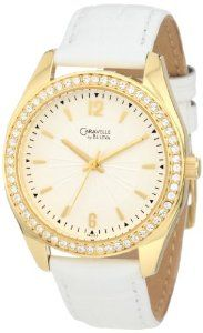 Caravelle by Bulova Women's 44L102 Leather strap Watch