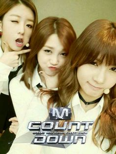 Hayoung, Eunji, Bomi!